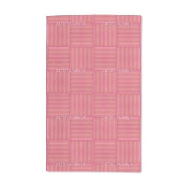Grid Weave Hand Towel (Set of 2)