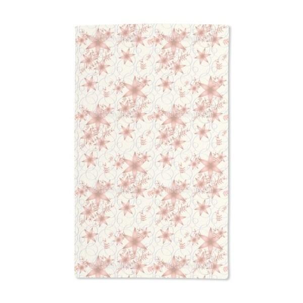 Floral Stars Hand Towel (Set of 2)