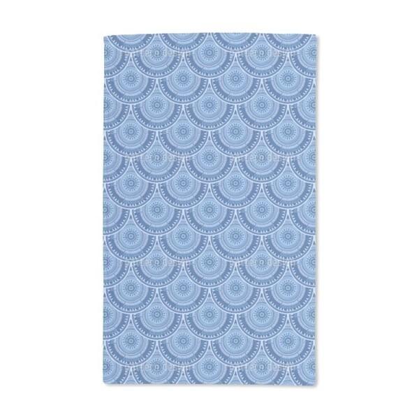 Poseidon's Shields Hand Towel (Set of 2)