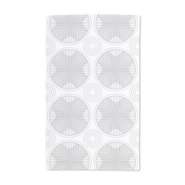 In the Circle Grid Hand Towel (Set of 2)
