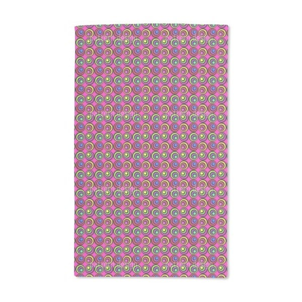 Psychedelic Pink Hand Towel (Set of 2)