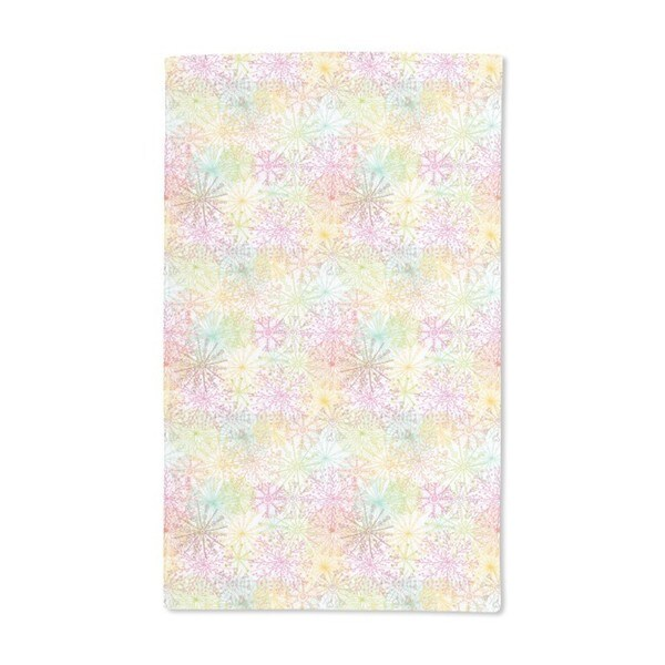 Coral Stars Hand Towel (Set of 2)