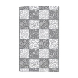 Stars on the Chessboard Hand Towel (Set of 2)