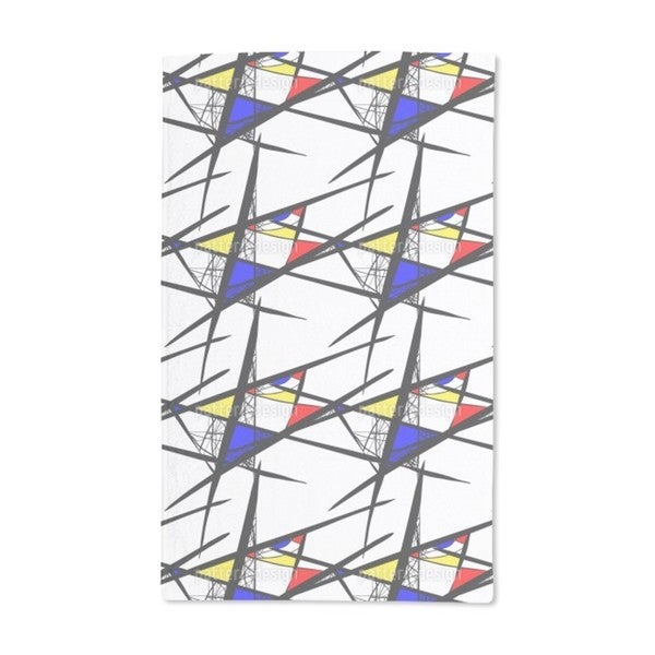 Abstract Composition Hand Towel (Set of 2)