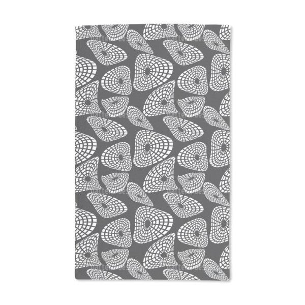 Moving Shapes Hand Towel (Set of 2)