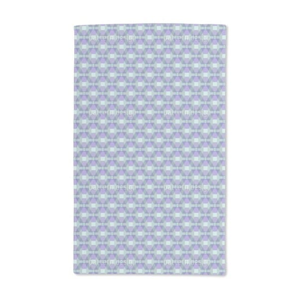 Hexagonia on the Trapeze Hand Towel (Set of 2)
