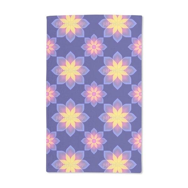 Digital Flowers Hand Towel (Set of 2)