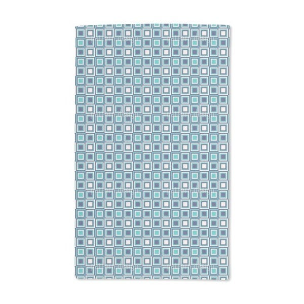 Retro Squares Are Cool Hand Towel (Set of 2)