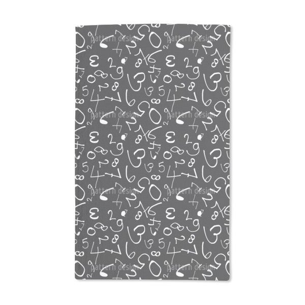Partying Numbers Hand Towel (Set of 2)