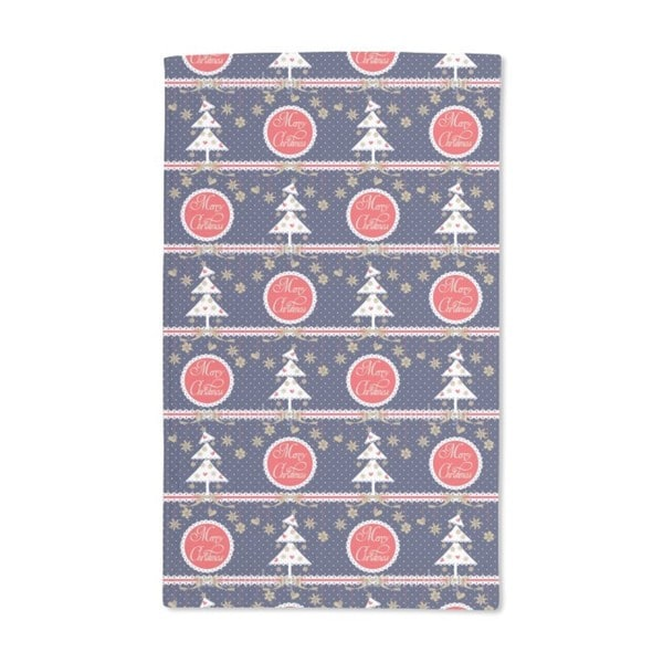 Alpine Christmas Hand Towel (Set of 2)