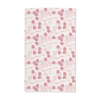 Valentines Day Roses Hand Towel (Set of 2)