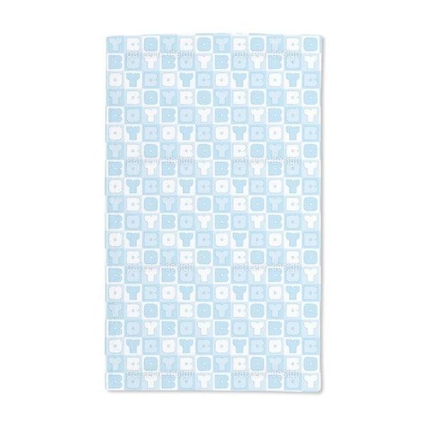Boy Sudoku Hand Towel (Set of 2)