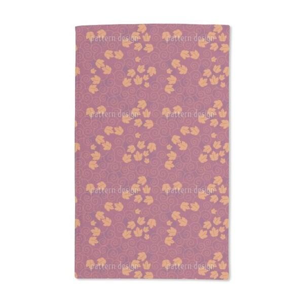 Grape Leaf Romance Hand Towel (Set of 2)