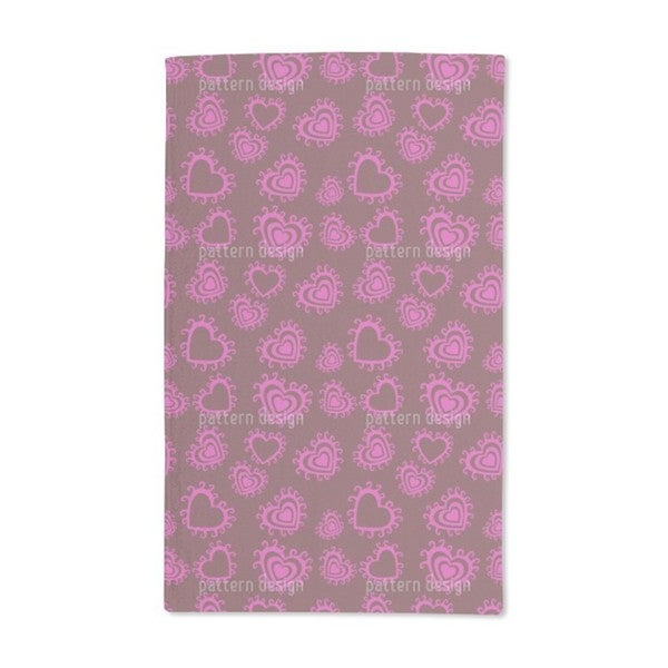 From the Bottom of My Heart Hand Towel (Set of 2)