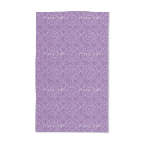 Henna Flowers Hand Towel (Set of 2)