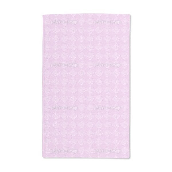 Zebra Like Pink Hand Towel (Set of 2)