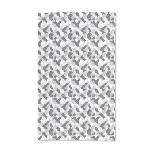 Crumpled Surface Hand Towel (Set of 2)