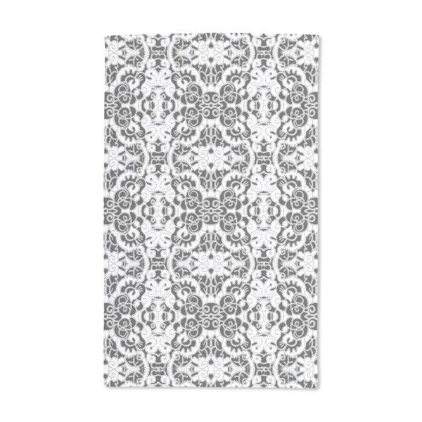 Lace Doily Hand Towel (Set of 2)