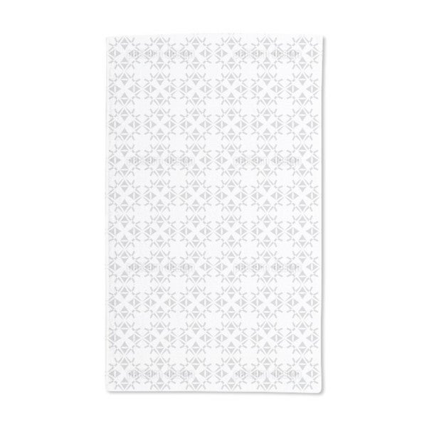Graphical Accurate Hand Towel (Set of 2)