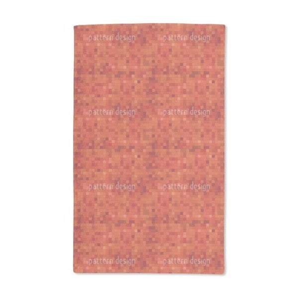 Hot Mosaic Hand Towel (Set of 2)