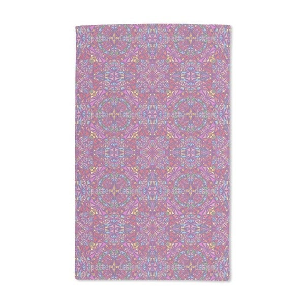 The Kaleidoscope of Colors Hand Towel (Set of 2)