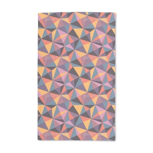 Geometry of the Modern Age Hand Towel (Set of 2)