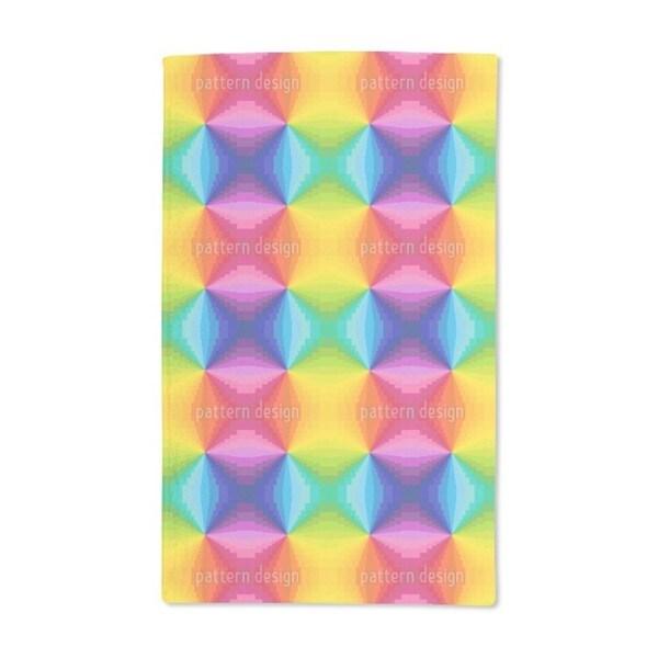 Abstract Rainbow Hand Towel (Set of 2)