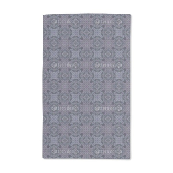 Geometric Dusk Hand Towel (Set of 2)