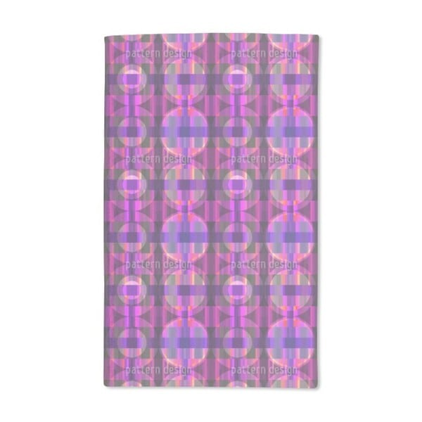 Parkquet Ultraviolet Hand Towel (Set of 2)
