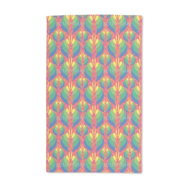 Poptanica Flowers Hand Towel (Set of 2)