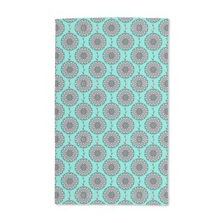 Graphic Peony Hand Towel (Set of 2)