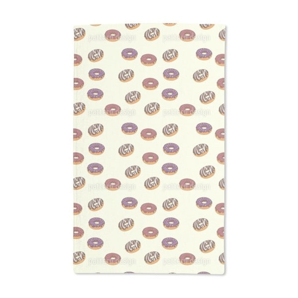 Delicious Donuts Hand Towel (Set of 2)