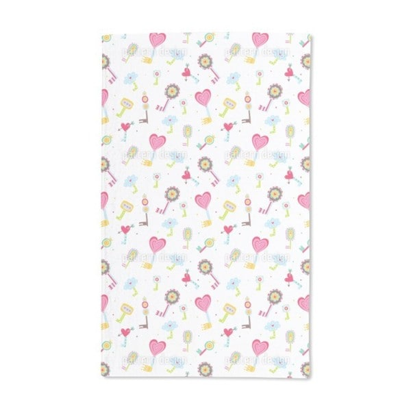The Keys to the Children's Hearts Hand Towel (Set of 2)