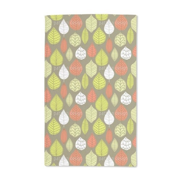 Leaves in Style Hand Towel (Set of 2)
