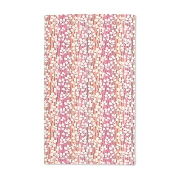 Leaves Flow Hand Towel (Set of 2)