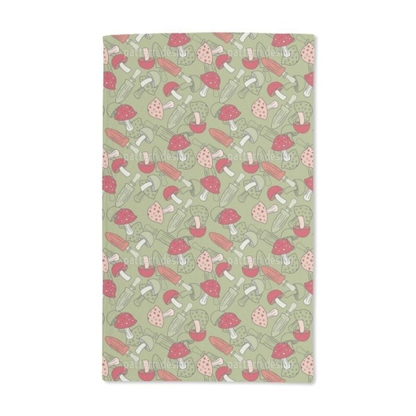 Mushroom Dream Hand Towel (Set of 2)