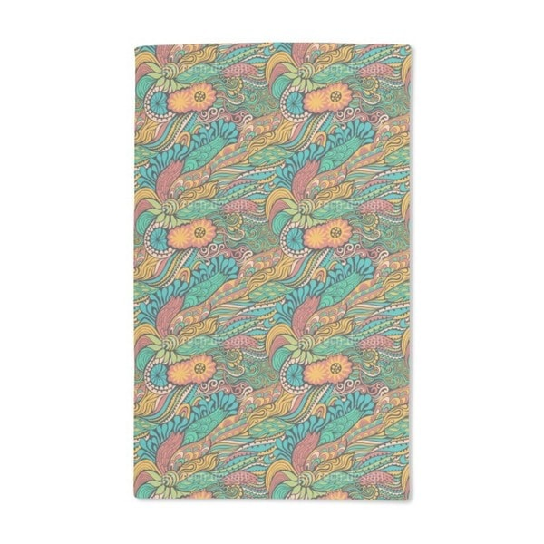 Summer Dragon Fantasies Hand Towel (Set of 2)