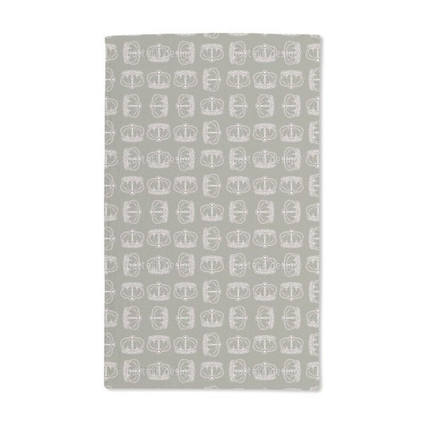 Corona Olive Hand Towel (Set of 2)
