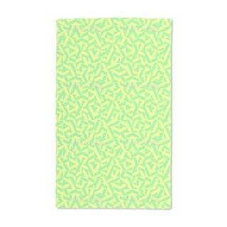 Geometric Lemonade Hand Towel (Set of 2)