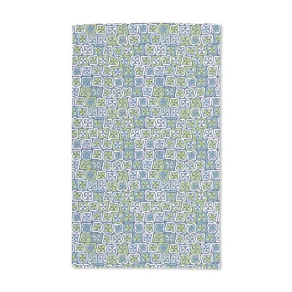 Fresh Crossover Mosaic Hand Towel (Set of 2)