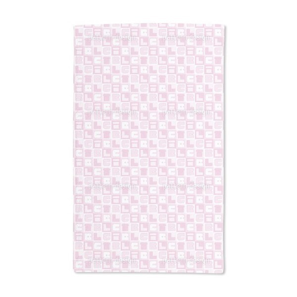 Girl Sudoku Hand Towel (Set of 2)