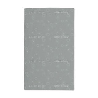 Laura Is Drawing Flowers Hand Towel (Set of 2)
