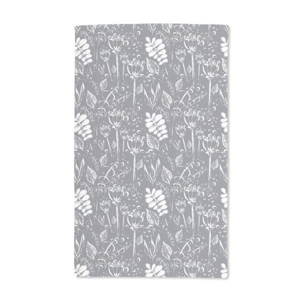 Dewy Grey Uni Hand Towel (Set of 2)