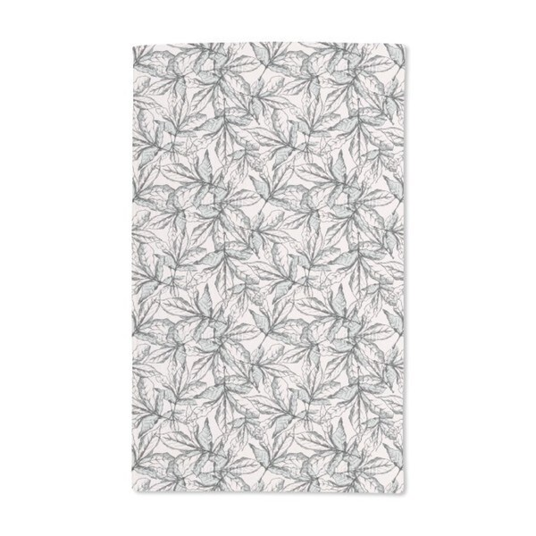 Falling Leaves Hand Towel (Set of 2)