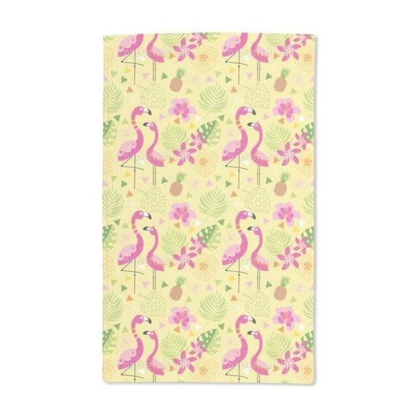 Flamingo Paradise Hand Towel (Set of 2)