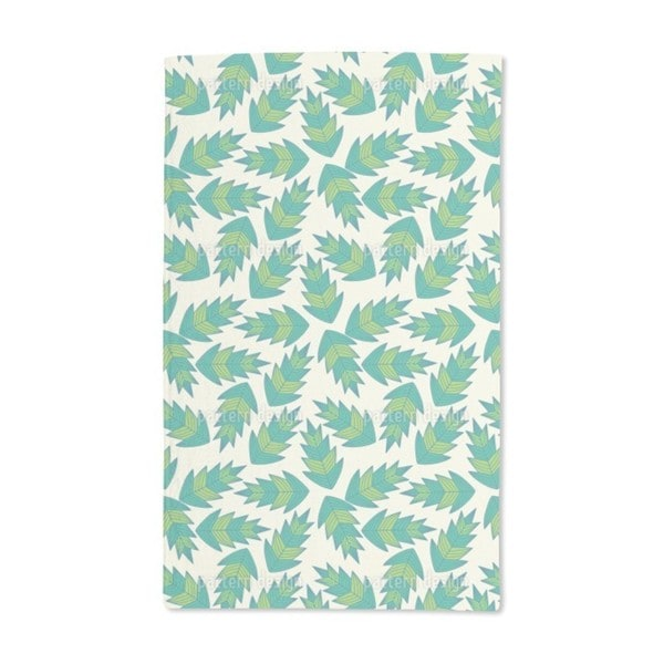 Jungle Leaf Hand Towel (Set of 2)