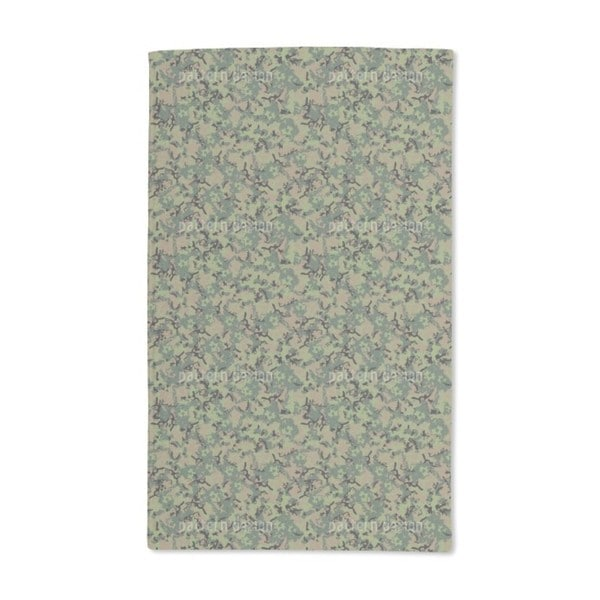 Forest Camouflage Hand Towel (Set of 2)