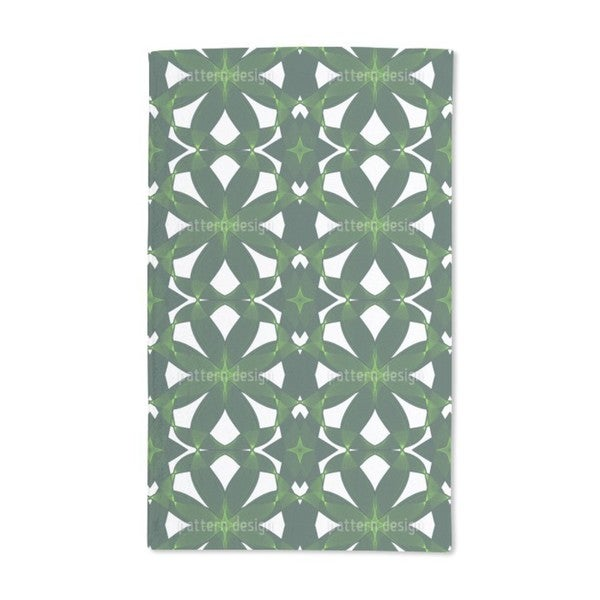 Exotic Leaf Weave Hand Towel (Set of 2)