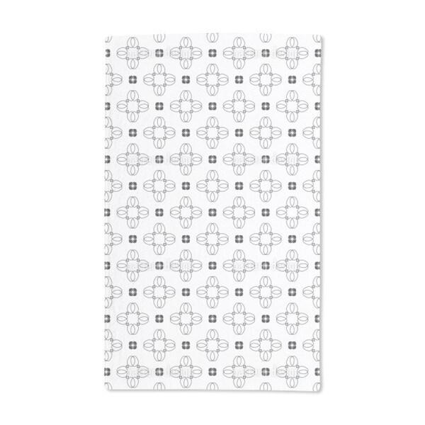 Petal Like Crosses Hand Towel (Set of 2)