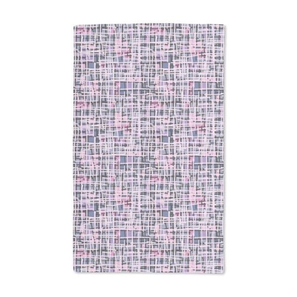 Pink Pop Art Patchwork Hand Towel (Set of 2)